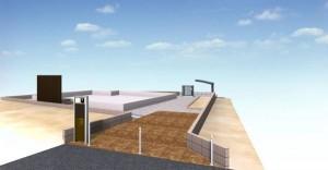 スタンプコンクリート外構図面