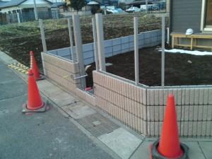 ブロック及びフェンス