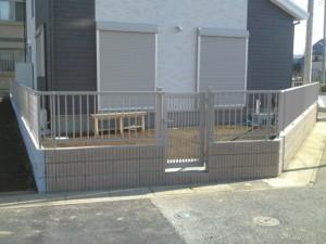 埼玉県桶川市の外構工事施工完成写真